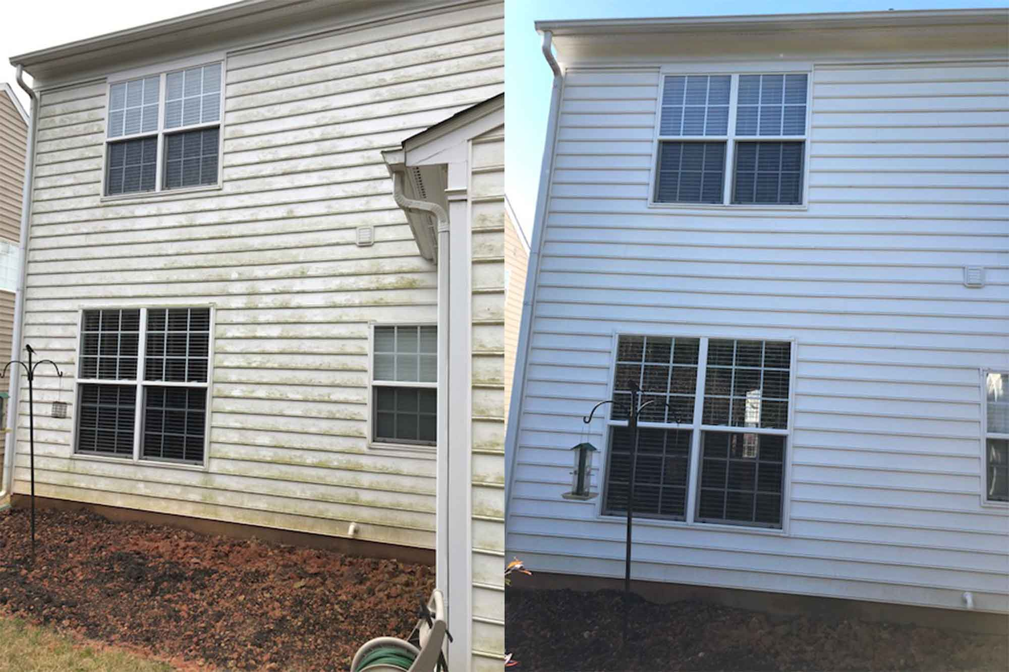 Before After House Siding
